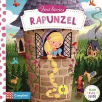 Книга с движущимися элементами First Stories: Rapunzel