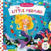 Книга с движущимися элементами First Stories: The Little Mermaid
