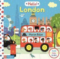 Книга с движущимися элементами Hello! London