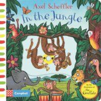 Книга с движущимися элементами In the Jungle