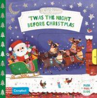 Книга с движущимися элементами,Книга с окошками First Stories: 'Twas the Night Before Christmas