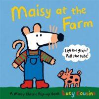 Книга с движущимися элементами,Книга с окошками Maisy at the Farm