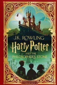 Книга с движущимися элементами,Книжка-раскладушка Harry Potter and the Philosopher's Stone (MinaLima Edition)