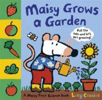 Книга с движущимися элементами,Книжка-раскладушка Maisy Grows a Garden