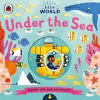 Книга с движущимися элементами Little World: Under the Sea