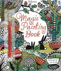 Книга с кисточкой,Книга-раскраска Magic Painting Book