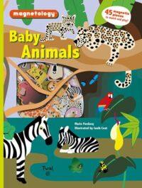 Книга с магнитами Magnetology: Baby Animals