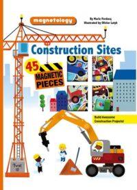 Книга с магнитами Magnetology: Construction Sites