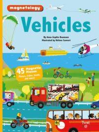 Книга с магнитами Magnetology: Vehicles