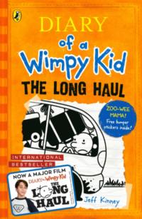 Книга с наклейками Diary of a Wimpy Kid: The Long Haul (Book 9)
