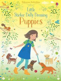 Книга с наклейками Little Sticker Dolly Dressing: Puppies