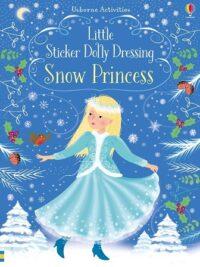 Книга с наклейками Little Sticker Dolly Dressing: Snow Princess
