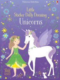 Книга с наклейками Little Sticker Dolly Dressing: Unicorns