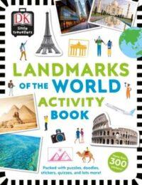 Книга с наклейками Little Travellers: Landmarks of the World