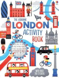 Книга с наклейками London Activity Book