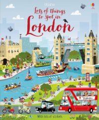 Книга с наклейками Lots of Things to Spot in London