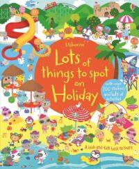 Книга с наклейками Lots of Things to Spot on Holiday