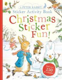 Книга с наклейками Peter Rabbit: Christmas Sticker Fun!