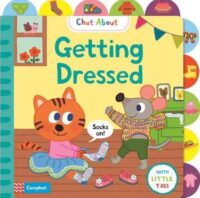 Книга с окошками Getting Dressed
