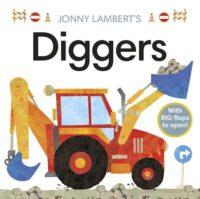 Книга с окошками Jonny Lambert's Diggers
