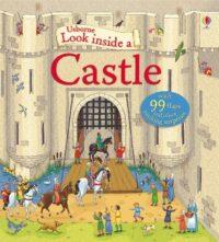 Книга с окошками Look inside a Castle