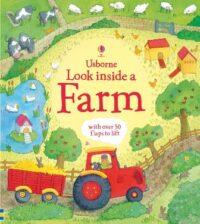 Книга с окошками Look inside a Farm