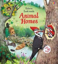 Книга с окошками Look inside Animal Homes