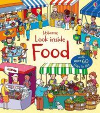 Книга с окошками Look inside Food