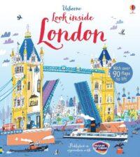 Книга с окошками Look inside London
