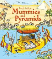 Книга с окошками Look inside Mummies and Pyramids