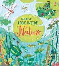 Книга с окошками Look inside Nature
