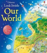 Книга с окошками Look inside Our World