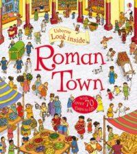 Книга с окошками Look inside Roman Town