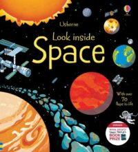 Книга с окошками Look inside Space