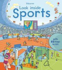 Книга с окошками Look inside Sports