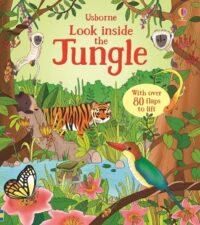 Книга с окошками Look inside the Jungle