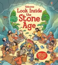 Книга с окошками Look inside the Stone Age