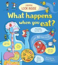 Книга с окошками Look inside What Happens When You Eat?