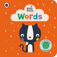Книга с тактильными ощущениями Baby Touch: Words (A Touch-and-Feel Playbook)