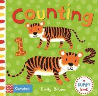 Книга с тактильными ощущениями Counting