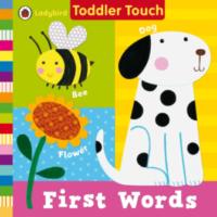 Книга с тактильными ощущениями First Words