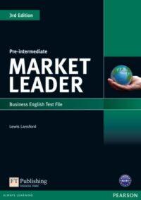 Книга с тестами Market Leader 3rd Edition Pre-Intermediate Test File