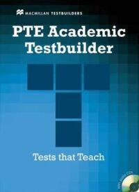Книга с тестами PTE Academic Testbuilder with key and Audio CDs