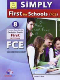 Книга с тестами Simply B2 First for Schools — 8 Practice Tests Self-Study Edition