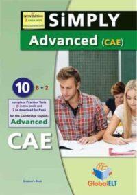 Книга с тестами Simply C1 Advanced — 8 Practice Tests Self-Study Edition