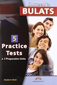 Книга с тестами Succeed in BULATS — 5 Practice Tests Self-Study Edition