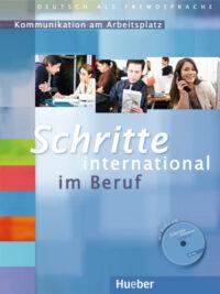 Книга Schritte international im Beruf: Kommunikation am Arbeitsplatz mit Audio-CD