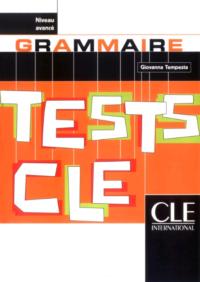Книга Tests CLE: Grammaire Avancé