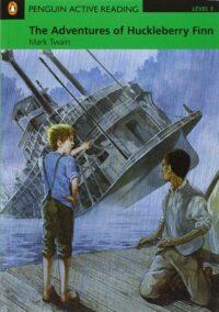 Книга The Adventures of Huckleberry Finn with CD-ROM