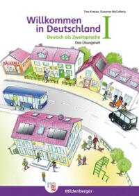 Книга Willkommen in Deutschland – Deutsch als Zweitsprache Übungsheft I mit Stickerbogen und Lösungen